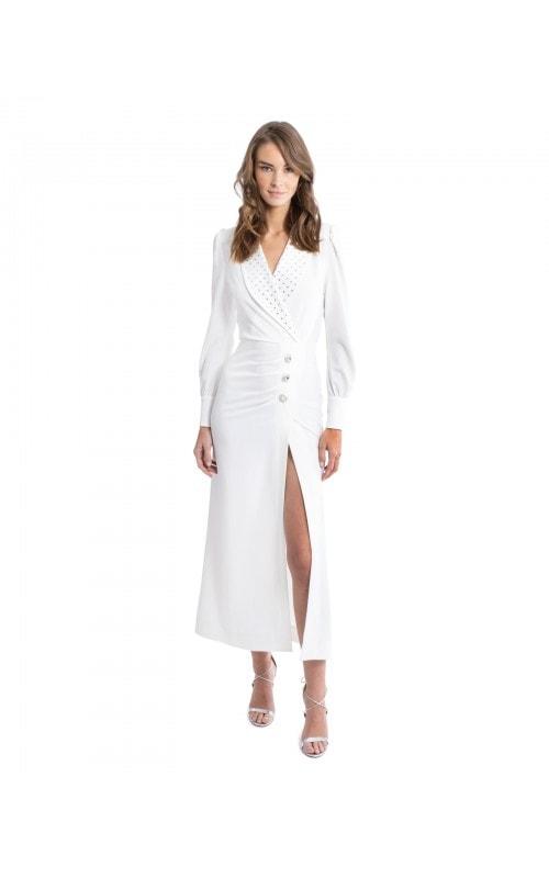 Crystal Embellished Hollywood Dress