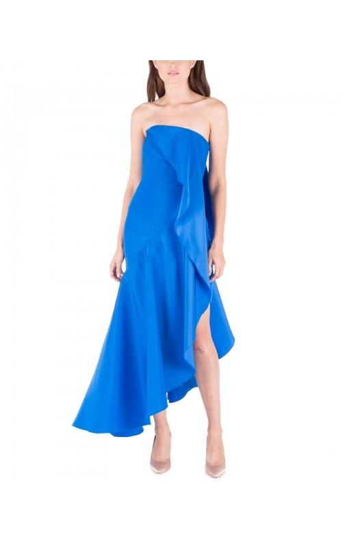 Bright Blue Empanada Dress