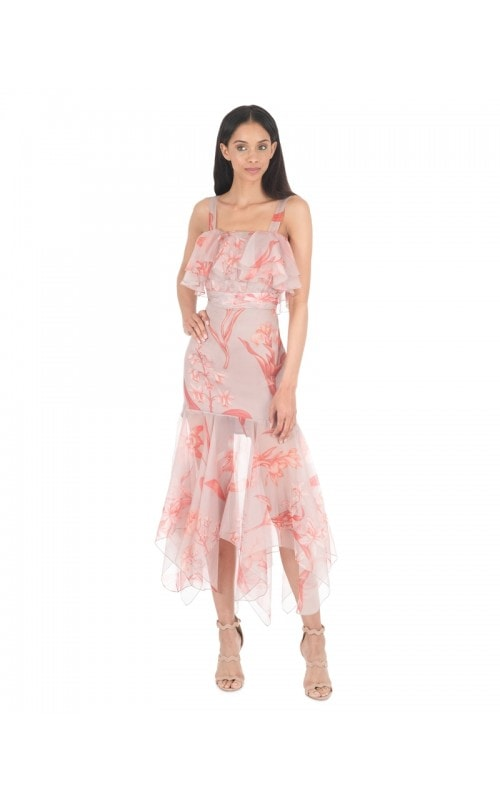 Hula Dance Organza Dress