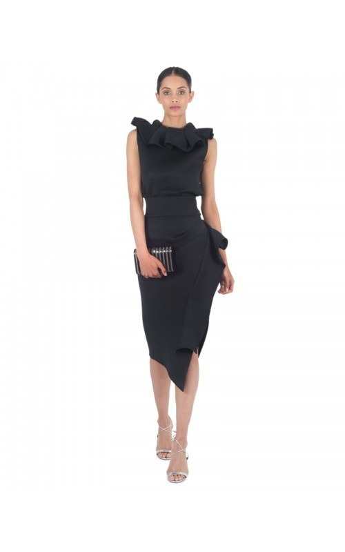 Black Fruition Top & Olimpus Skirt