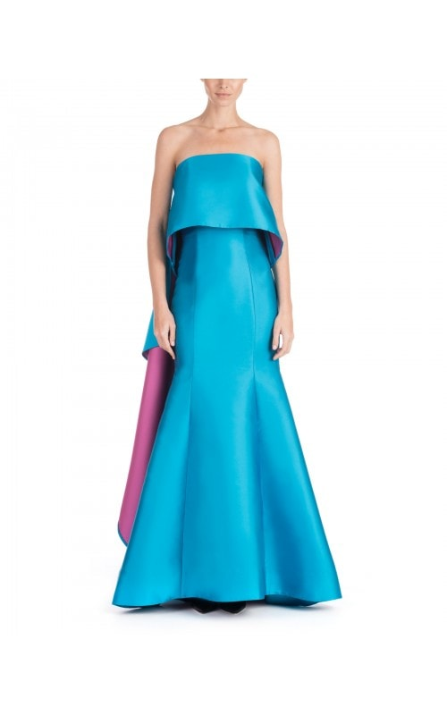 Two Tone Mermaid Gown