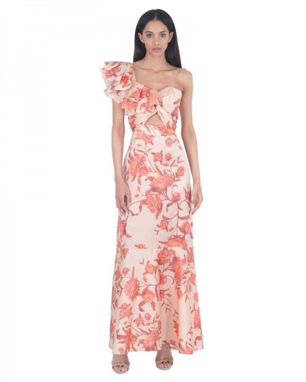 Encanto Tropical Silk Gown