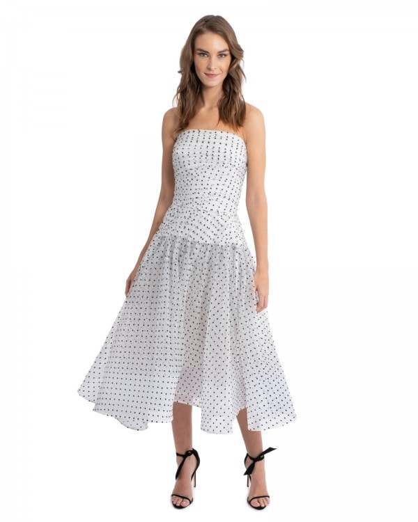 Prediction Polka Dot Dress