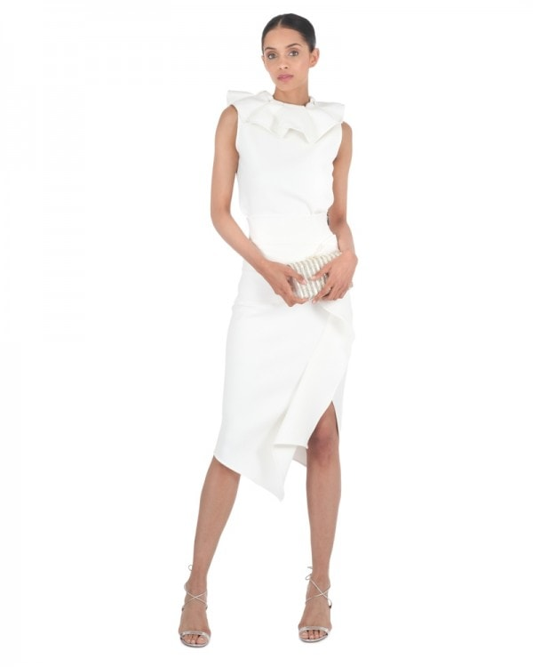 White Fruition Top & Olimpus Skirt