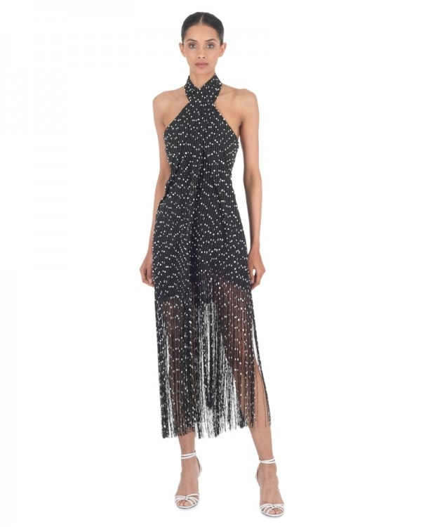 Cortese Fringed Dress