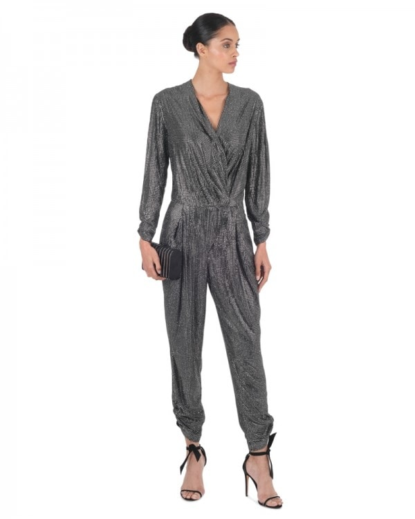 Strass Embellished Jumpsuit