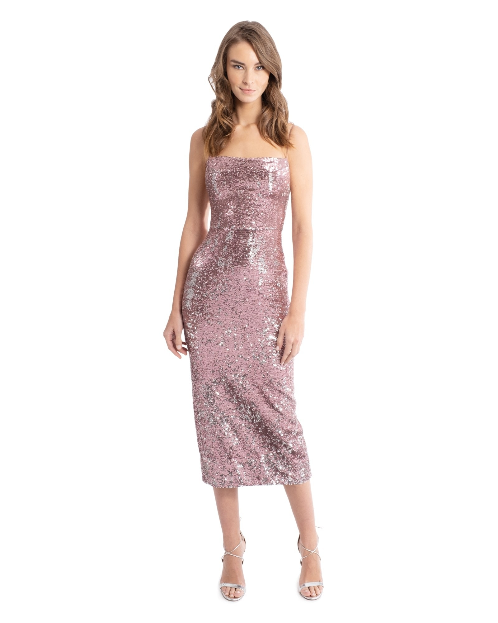 Camisole Sequin Gown