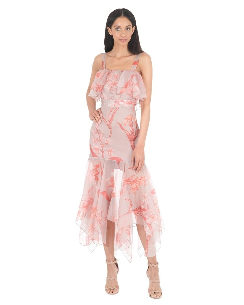 Hula Dance Organza Dress