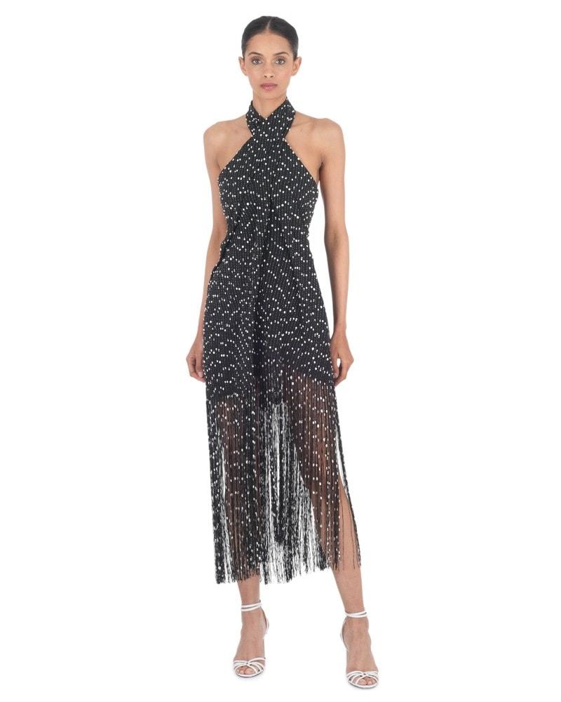 Cortese Fringed Dress