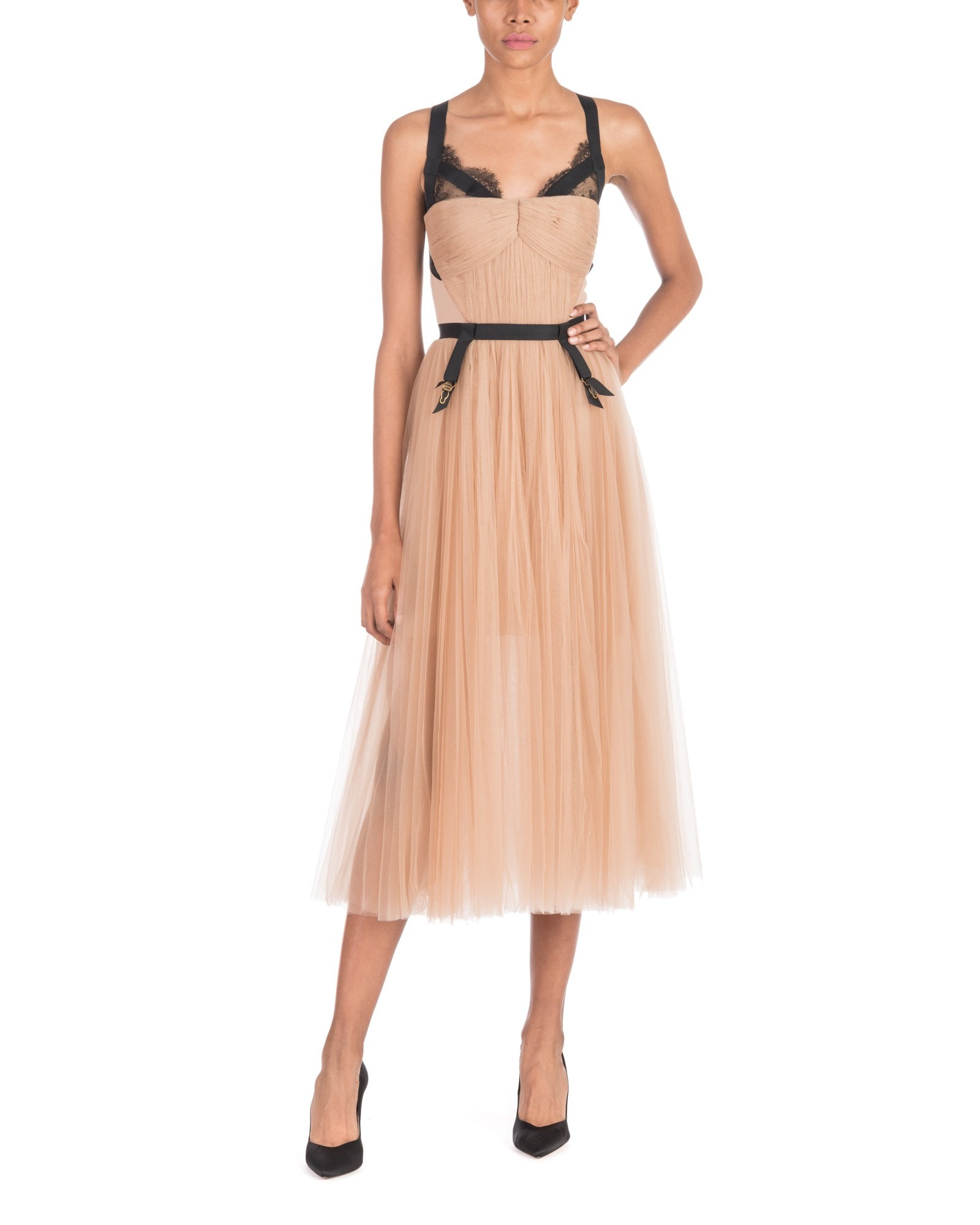 Maysa Dress With Lingerie Detail