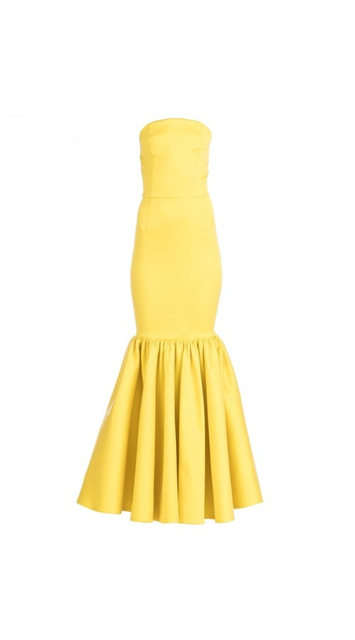 SUNSHINE STRAPLESS MERMAID GOWN
