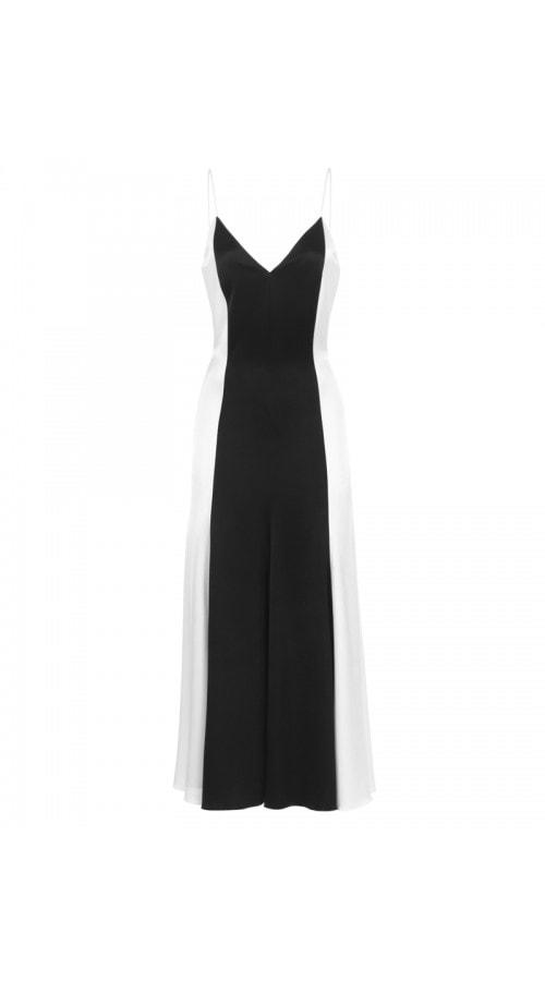 Marilyn Two Tone Satin Dress