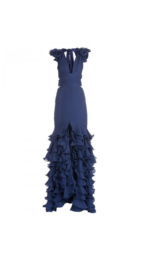 El Encanto Wrap Gown