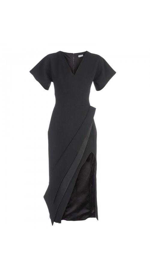 Wide Sleeve Pencil Dress