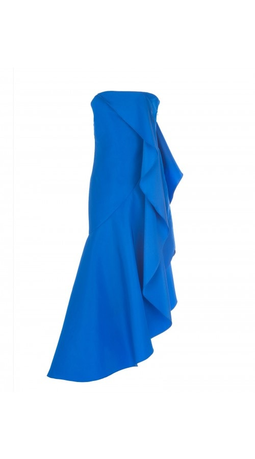 Bright Blue Empanada Dress