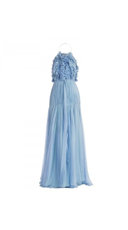 Malati Ruffle Front Gown