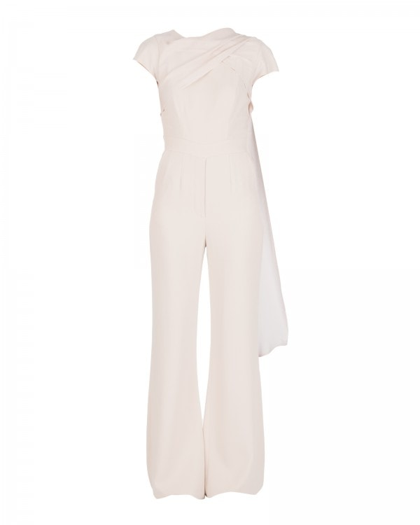 FLUID PALE PINK JUMPSUIT