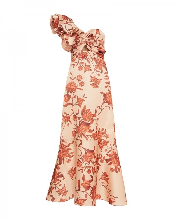 Encanto Tropical Silk Gown